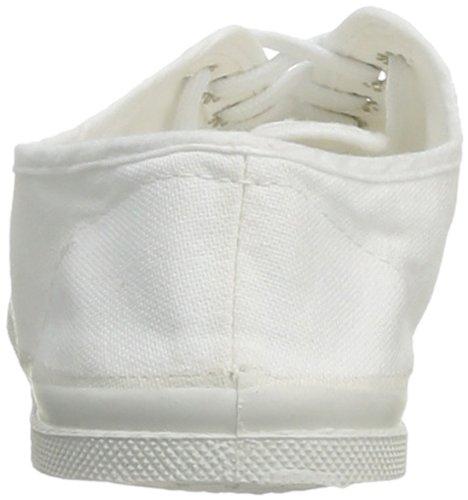 Femme 101 blanc Baskets Lacet Blanc Tennis Bensimon wRCt8R