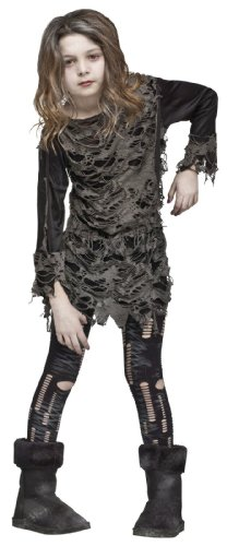 WALKING ZOMBIE CH MD 8-10 (Living Dead Zombie Costume)