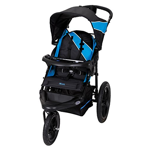 Baby Trend Xcel Jogger Stroller, Mosiac Blue (Best Stroller For Older Kids)