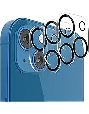 TINICR Folia ochronna na aparat fotograficzny ze szkła pancernego do iPhone 13 / iPhone 13 Mini – [3 sztuki] twardość 9H, odporna na zarysowania, folia szklana, odporna na uderzenia, ultraprzezroczyste soczewki