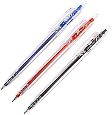 One G-32020 Gel Ink Pen 0.5 mm Pack 3 pcs. Random Ink