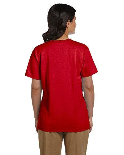 Relaxed shirt Scollo Con T A V s Donna deep Comfortsoft Fit Red gSw1qCC
