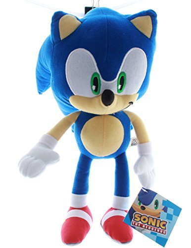Sonic the Hedgehog Plush Toy Kids Boys Girls 13""