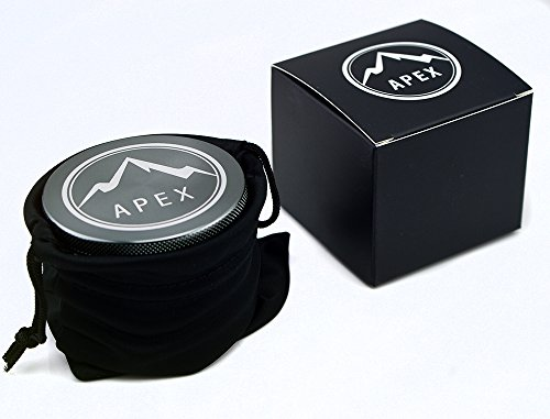 Herb Grinder Apex Premium 4 Piece With Pollen Catcher 2.5 Inch 4 piece grinder Top Rated Herb Grinder Includes carrying case and pollen scraper (Champagne Platinum) 6 <p>GET THE MOST OUT OF YOUR HERBS, WITH THE UNIQUE ATTENTION GRABBING STYLE OF AN APEX PREMIUM-QUALITY HERB GRINDER TODAY FREE Shipping - Lifetime Warranty - Order Now Save Money by Conserving Your Herbs - Using the newest in CNC technology, our blades are the sharpest and most effective of any grinder ever made giving you a slower burning, longer lasting herbal experience. Pump Up the Potency - Our strong steel screens are perfect for collecting the finest pollen, and increasing the potency of your herbs. We even include a pollen scraper to maximize pollen collection. World's Smoothest Grinding Experience - The magnetic top and friction reducing ring to allow for the smoothest grinding experience possible. Built to Last a Lifetime - Apex grinders are made from the highest quality aircraft grade aluminum making them tougher, and more durable than other grinders. Lifetime Warranty and FREE Shipping - If for any reason you're unsatisfied with your Apex Premium-Quality Herb Grinder, you can send it back for a full refund. No questions asked.</p>