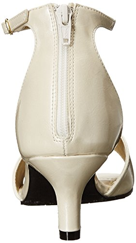 Soft Style von Hush Puppies Madalyn Kleid Sandale Ivory Pearlized Patent