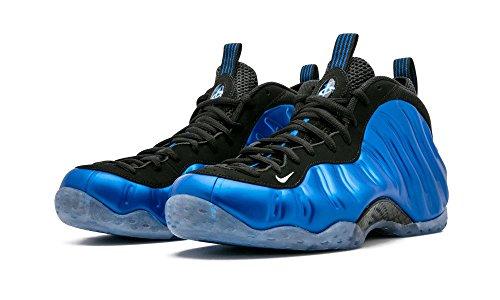 Nike Men's Air Foamposite One XX, DK NEON ROYAL/WHITE-BLACK, 10.5 M US (Nike Neon Black Sneakers)