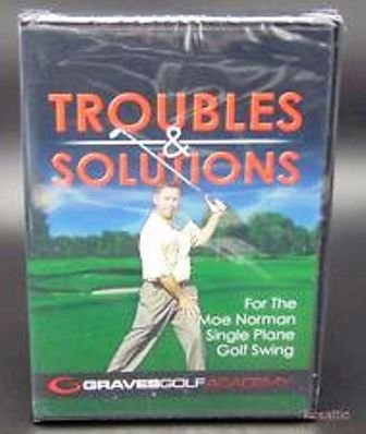 Troubles and Solutions for the Moe Norman Single Plane Golf Swing