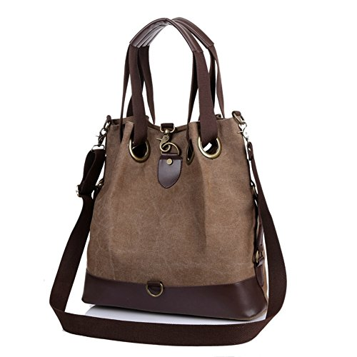 Hobo Women's Women Bag Bags Handbags BeAllure Hobo Brown Shoulder Canvas qqav0c