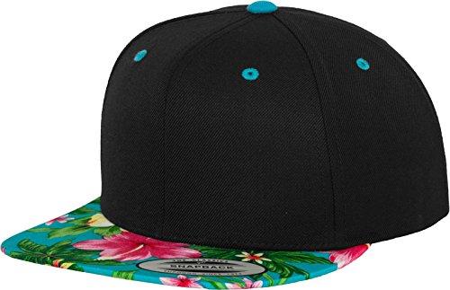 Flex fit Yupoong Hawaiian Snapback Cap Kappe Baseballcap Basecap Black blue 1c747ed7c77d