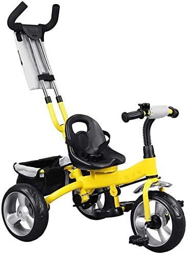 JINHH Triciclos Niños, Niños Triciclo 3 En 1 Empuje Directivo Niños Triciclo Bicicletas Bidireccional Y Paseo Dual/Kid Uso Trike Toddlers2 / 6 Años De Edad del Niño del Carro