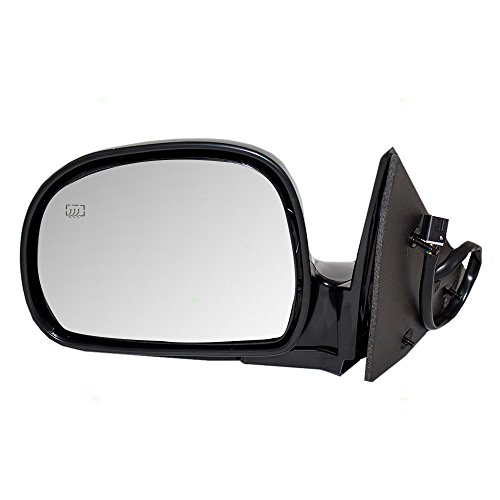Drivers Power Side View Mirror Heated Replacement for GMC Chevrolet Oldsmobile SUV Pickup Truck 15151119 AutoAndArt