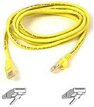 A3L980-07-YLW-S Belkin Snagless CAT6 Patch Cable RJ45M//RJ45M; 7 Yellow