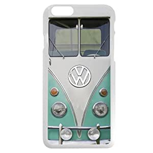 """Cool Onelee Customized White Hard Plastic VW Minibus iPhone 6 4.7 Case, Only fit iPhone 6 4.7"""""""