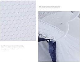 QDR Mosquitera Cama Blanca Individual Y Doble Bette para Pergola Dosel NiñOs Fly ProteccióN contra Insectos Interior/Exterior Decorativa Altura,White,B: Amazon.es: Hogar