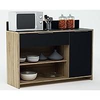 Abitti Mueble Auxiliar para microondas o aparador Color