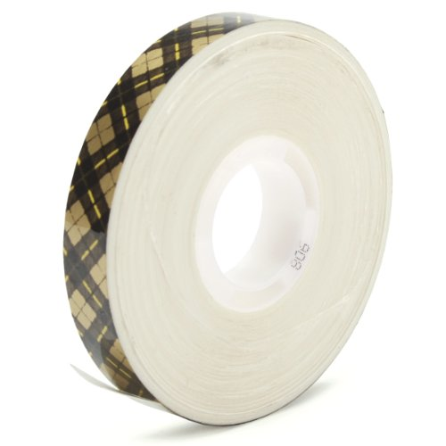 (3M Scotch 908 ATG Gold Tape: 1/2 in. x 36 yds. (Clear Adhesive on Tan Liner))