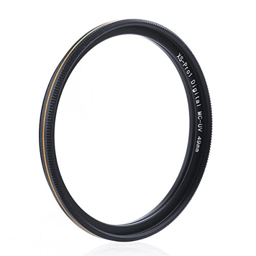 49mm UV Camera Protection Filter Lens for Canon Nikon Sony - 1