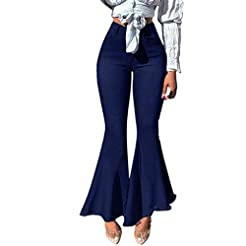 Lazapa Pocket Jeans for Women, Large Siz...