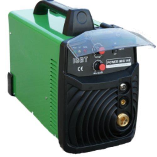 Everlast Poweri-MIG200E Welder 220-volts FLUX 200-Amp, Green