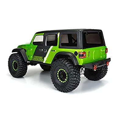 Pro-line Racing 1/10 Jeep Wrangler JL Unlimited Rubicon Clear Body with 12.3