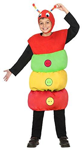 Atosa 24328Caterpillar Boy's Costume, Size -