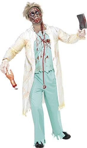 Smiffys Men's Zombie Doctor