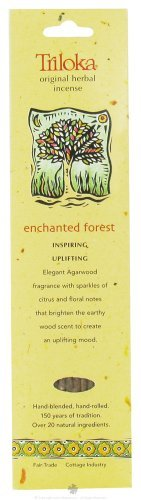 Triloka, Incense Enchanted Forest, 10 Count