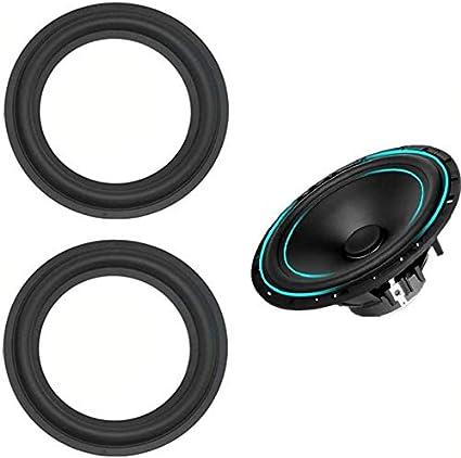"""LinaLife 9pcs 9 inch 9"""" Speaker Foam Surround Repair Kit, 950mm  Perforated Rubber Edge Rings Replacement Parts Speaker Repair DIY Speaker  Surround"""