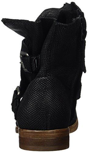 Mjus 884210-0201, Botas de Motociclista Mujer Negro (Nero)
