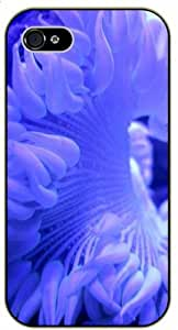 Blue florwer - iPhone 5 / 5s black plastic case / Flowers and Nature, floral, flower
