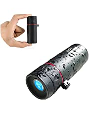 Monocular Telescope 40x60 Mini monocular Pocket Scope Ultra Lightweight Compact monocular with Strong Zoom Ability for Birdwatching