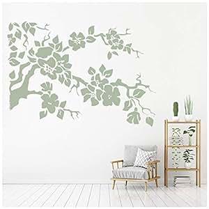 Amazon.com: azutura Flower Branch Wall Sticker Floral Tree