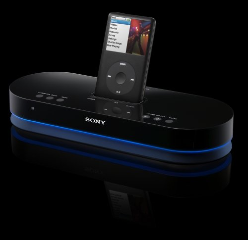 Sony AIR-SA20PK S-AirPlay Digital Wireless Speaker System for iPod (Black)