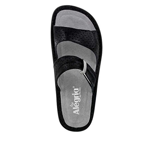 Alegria Women's Karmen Wedge Sandal Black Wavy big sale cheap price many kinds of cheap price free shipping best prices quality from china cheap new arrival for sale 0aKc8