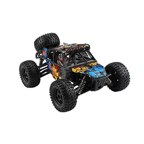 DaoAG 1/16 RC Rock Crawler 4WD Off Road RC Military Truck Rock Crawler 2.4Ghz 36KM/H High Speed Remote Control Crawler Waterproof Buggy RC Car Toy