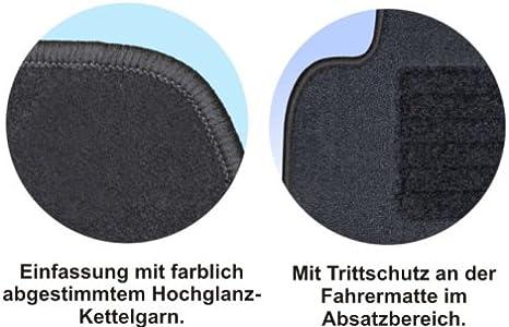 Rau Passform Fussmatte Mit Absatzschoner Zero Schwarz Fahrzeug Siehe Text Auto