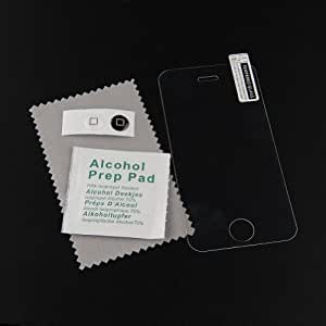 {Factory Direct Sale} Tempered Glass Screen Protector for iPhone 4 / iPhone 4S Premium Crystal Clear - Industry-High 8-9H Hardness Scratch Terminator