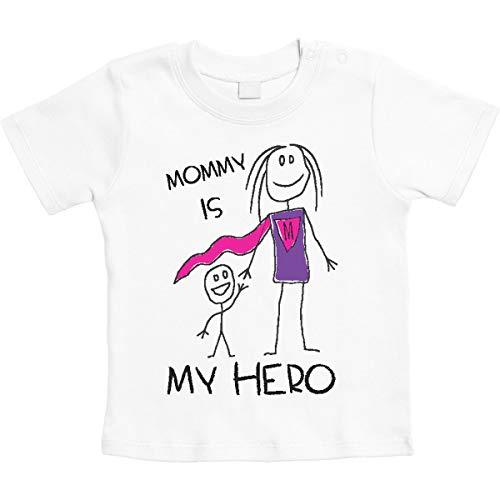 Bianco Is Hero Mamma Maglietta Unisex Shirtgeil idea Mommy Neonato Regalo My Per Ppnx5qA