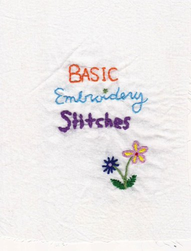 Amazon Basic Embroidery Stitches Its Totally Doable Book 1