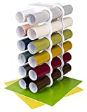 ArtBin Storage Rack Stores 12 Vinyl Rolls White
