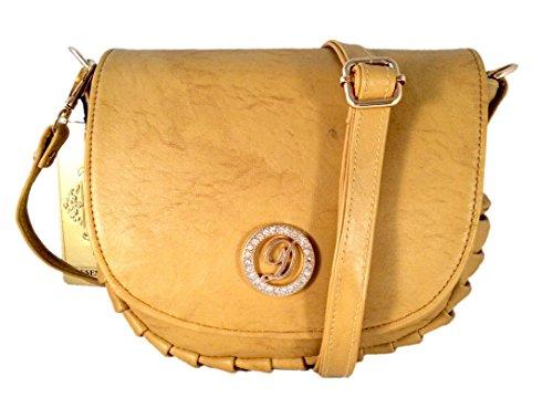 Deal Especial Fancy Unique desginer Elegante mujeres y muchachas sling bolsa regalos Bronze