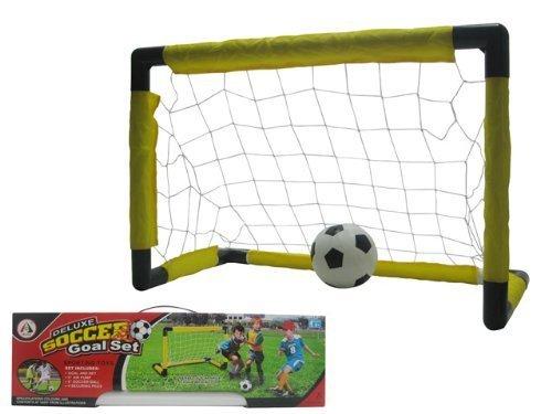 Soccer Goal Set With Bars and Net 1 Set [並行輸入品] B078BSQDJB