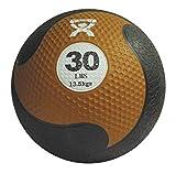 CanDo Rubber Medicine Balls, 20 lbs, Silver