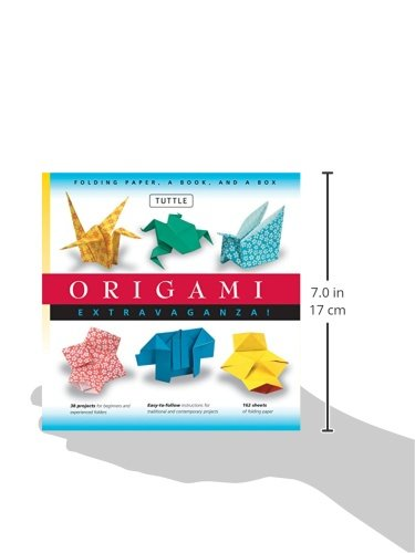 Origami Extravaganza: Folding Paper, a Book, and a Box by Tuttle Publishing (Image #10)