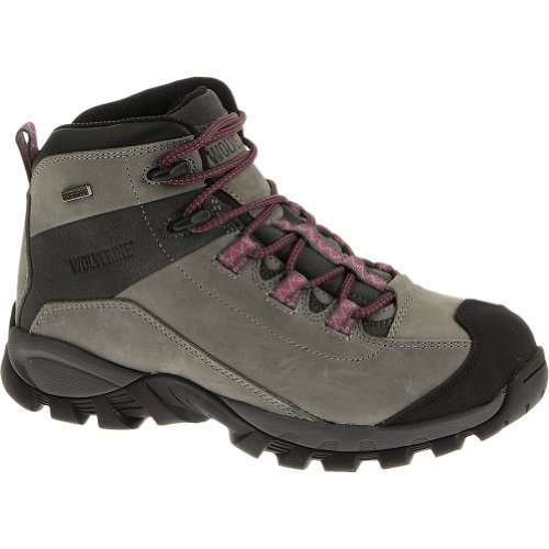 Image of the Wolverine Black Ledge LX Waterproof Leather Mid-Cut Hiking Boot