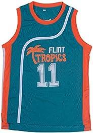 huohua Women Basketball Jersey Flint Tropics #7Coffee Black 69 Downtown 33#Moon 11#Monix #55 Vakidis Jerseys S