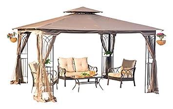 Sunjoy Replacement Canopy Set for 10x12ft Regency II Gazebo  sc 1 st  Amazon.com & Amazon.com: Sunjoy Replacement Canopy Set for 10x12ft Regency II ...