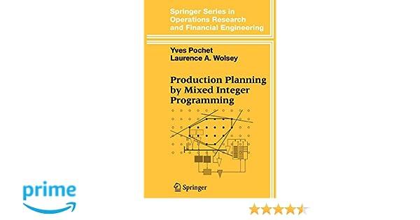 Integer Programming Wolsey Pdf
