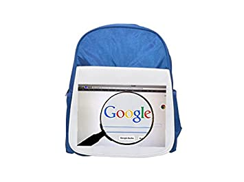 Google, WWW, Online Search, Search Printed Kid s Blue Backpack, Cute
