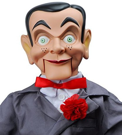 "Slappy Dummy, Ventriloquist Doll ""Star of Goosebumps"", Famous Ventriloquist Dummy. Has glow in the dark eyes. BONUS E-Book 'How to Be a -"